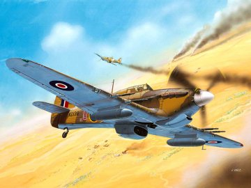Model Set Hawker Hurricane Mk. II · RE 64144 ·  Revell · 1:72