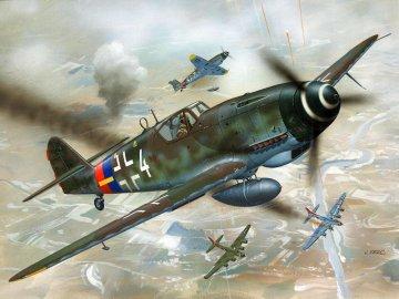 Model Set Messerschmitt Bf-109 · RE 64160 ·  Revell · 1:72