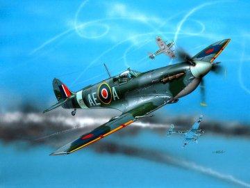 Model Set Spitfire Mk V · RE 64164 ·  Revell · 1:72