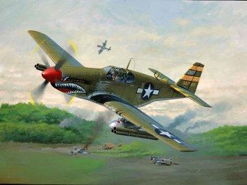 Model Set P-51 B Mustang · RE 64182 ·  Revell · 1:72