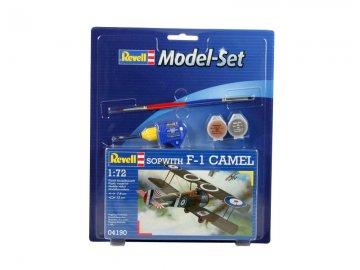 Model Set Sopwith F-1 Camel · RE 64190 ·  Revell · 1:72