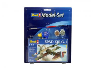 Model Set Spad XIII C-1 · RE 64192 ·  Revell · 1:72