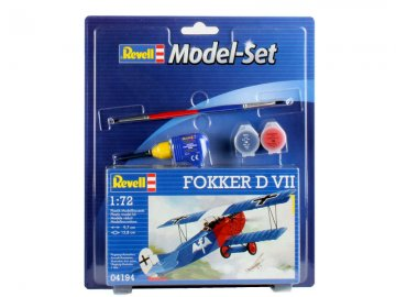 Model Set Fokker D VII · RE 64194 ·  Revell · 1:72