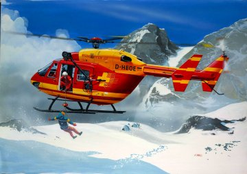 Model Set Medicopter 117 · RE 64451 ·  Revell · 1:72