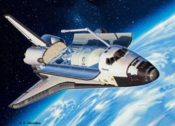 Model Set Space Shuttle Atlanis · RE 64544 ·  Revell · 1:144