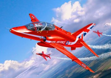 Model Set BAe Hawk T.1 Red Arrow · RE 64921 ·  Revell · 1:72