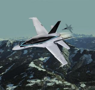 Model Set - F/A-18 Hornet Top Gun Maverick · RE 64965 ·  Revell · 1:72