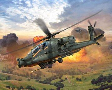 Model Set AH-64A Apache · RE 64985 ·  Revell · 1:100