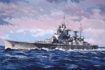 Model Set HMS King George V · RE 65161 ·  Revell · 1:1200