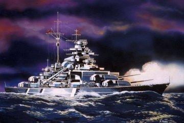 Model Set Bismarck · RE 65802 ·  Revell · 1:1200