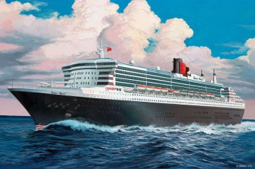 Model Set Queen Mary 2 · RE 65808 ·  Revell · 1:1200