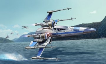 Resistance X-Wing Fighter [Model Set] · RE 66744 ·  Revell · 1:50