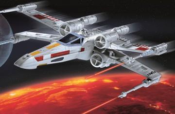 Model Set - X-wing Fighter · RE 66779 ·  Revell