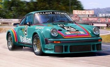 Model Set Porsche 934 RSR Vailaint · RE 67032 ·  Revell · 1:24