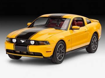 Model Set 2010 Ford Mustang GT · RE 67046 ·  Revell · 1:24