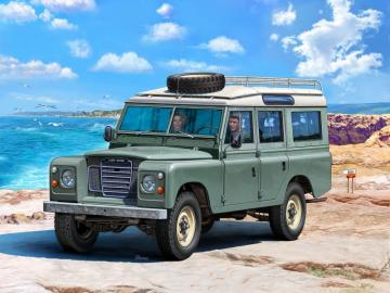 Model Set - Land Rover Series III · RE 67047 ·  Revell · 1:24