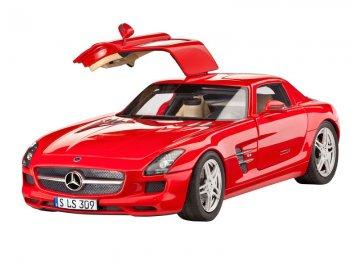 Model Set Mercedes SLS AMG · RE 67100 ·  Revell · 1:24