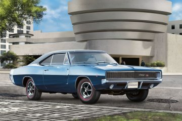 Model Set 1968 Dodge Charger · RE 67188 ·  Revell · 1:25