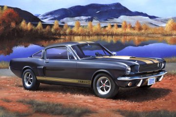 Model Set Shelby Mustang GT 350 H · RE 67242 ·  Revell · 1:24