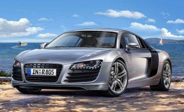 Model Set Audi R8 · RE 67398 ·  Revell · 1:24