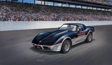 Model Set - 78 Corvette (C3) Indy · RE 67646 ·  Revell · 1:24