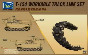 T-154 Workable Track set for M109A6 SPH · RII RE30001 ·  Riich Models · 1:35