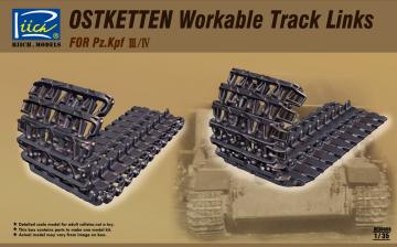 Ostketten Workable Track Links for Pz.Kp Kpfw III/IV & StuG III · RII RE30008 ·  Riich Models · 1:35