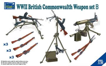 WWII British Commenwealth Weapon Set B · RII RE30011 ·  Riich Models · 1:35