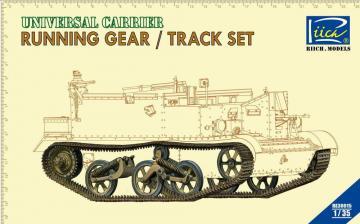 Running gear & Tracks set for Universal Carrier · RII RE30015 ·  Riich Models · 1:35