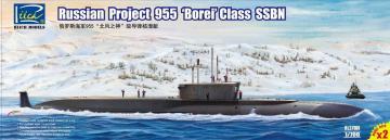 Russian Projekt 955 Borei class SSBN (Mod Model Kits X2) · RII RL27001 ·  Riich Models · 1:700