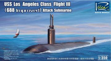 USS Los Angeles Class Flight III · RII RN28007 ·  Riich Models · 1:350