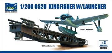 OS2U-3 Kingfisher w/Launcher (ModelKitsX2) · RII RS20003 ·  Riich Models · 1:200