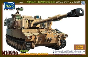 M109A6 Paladin Self-Propelled Howitzer · RII RT72001 ·  Riich Models · 1:72