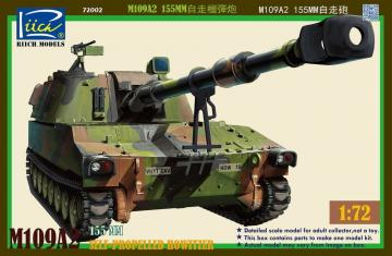 M109A2 155MM Self-Propelled Howitzer · RII RT72002 ·  Riich Models · 1:72