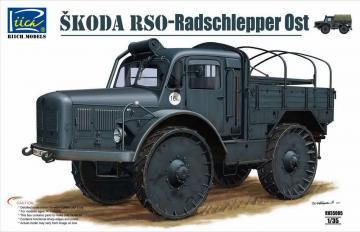 Skoda RSO-Radschlepper Ost · RII RV35005 ·  Riich Models · 1:35