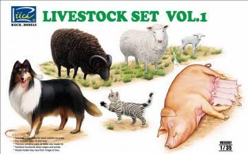 Livestock Set Vol.1 · RII RV35007 ·  Riich Models · 1:35