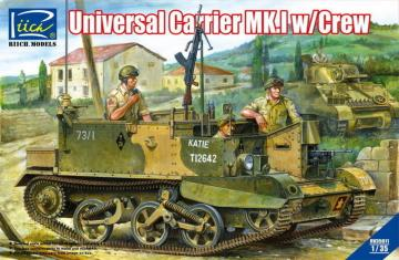 Universal Carrier Mk.1 w/crew · RII RV35011 ·  Riich Models · 1:35