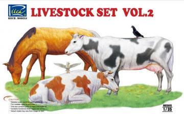 Livestock Set Vol.2 · RII RV35015 ·  Riich Models · 1:35