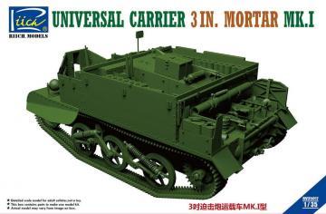 Universal Carrier 3 in. Mortar Mk.1 · RII RV35017 ·  Riich Models · 1:35