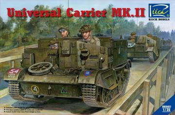 Universal Carrier Mk.II (full interior) · RII RV35027 ·  Riich Models · 1:35