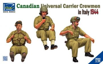 Canadian Universal Carrier Crewmen in Italy 1944 · RII RV35029 ·  Riich Models · 1:35