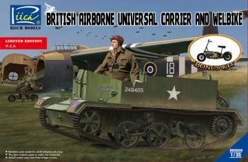 British Airborne Universal CarrierMk.III & Welbike Mk.2 (Limited Edition) · RII RV35034 ·  Riich Models · 1:35