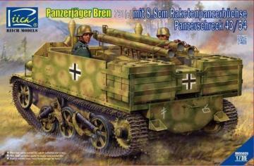 Panzerjäger Bren 731(e) mit 8,8cm Raketenpanzerbüchse Panzerschreck 43/54 · RII RV35035 ·  Riich Models · 1:35