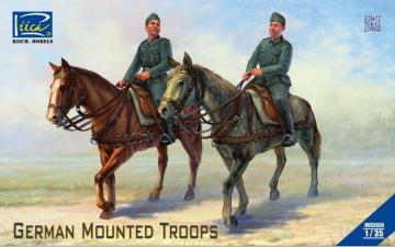 German Mounted Troops · RII RV35038 ·  Riich Models · 1:35