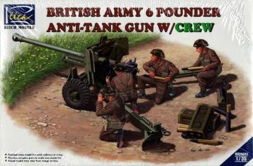 British Army 6 Pounder Infantry Anti-tank · RII RV35042 ·  Riich Models · 1:35