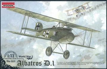 Albatros D.I World War 1 · RD 001 ·  Roden · 1:72