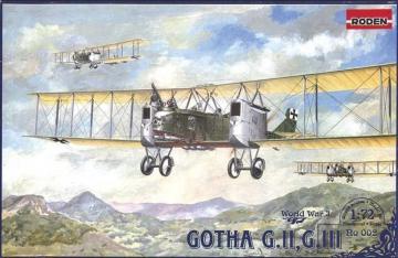 Gotha G.II-G.III · RD 002 ·  Roden · 1:72