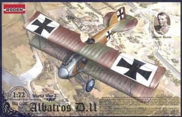 Albatros D.II World War 1 · RD 006 ·  Roden · 1:72