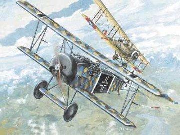 Fokker D.VI World War 1 · RD 007 ·  Roden · 1:72