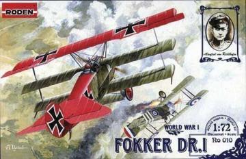 Fokker Dr.I · RD 010 ·  Roden · 1:72